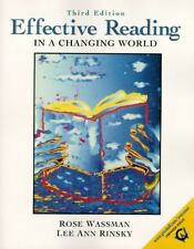 Effective Reading in a Changing World (3rd Edition)-ExLibrary