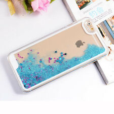 Sparkle Glitter Stars Dynamic Liquid Quicksand PC Case Cover For iPhone 6S 7Plus