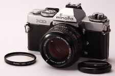 [EXC++++] Minolta XD Silver 35mm SLR Film Camera + MD 50mm f1.4 from JAPAN