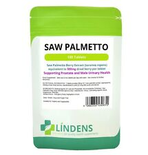 Saw Palmetto 500mg, 100 Tablets