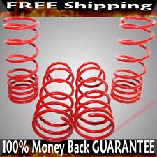 "RED Coil Lowering Spring Set 2"" Drop for 1984-1987 Toyota Corolla DLX/FX/LE/GST"
