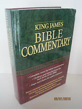 King James Bible Commentary by Various Authors