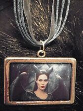 Maleficent, Fairy Maleficent Necklace, Angelina Jolie, Maleficent with Wings