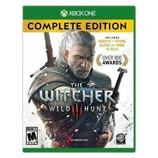 The Witcher 3: Wild Hunt Complete Edition - Xbox One Game NEW & SEALED FREE SHIP