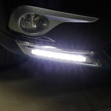 Toyota Kluger 2011 2012 2013 Chrome FOG LOWER VENT LED daytime running light DRL