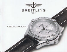 BREITLING CHRONO COCKPIT ANLEITUNG INSTRUCTIONS