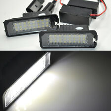 2x Error Free LED License Plate Light For VW Golf 7 Mk7 tsi tdi gti 2012-2014