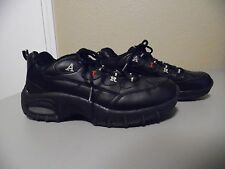 SPORTO BLACK AIR Leather Athletic Shoes Size 6 1/2  VGC