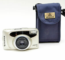 Fujifilm Zoom Date 90 35mm Point & Shoot Film Camera with Case