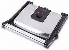 XL Kontaktgrill 2.000 Watt Elektrogrill Sandwichtoaster Tisch Grill NEU
