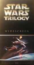 Star Wars Trilogy Collectors Box Set 3 Movies / 3Tapes PAL VHS  VGC