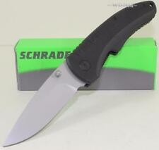 NEW Schrade Old Timer G-10 Drop Point Skinning Hunting Folding Pocket Knife