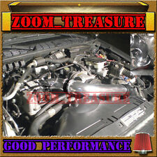 """BLACK RED 98-03 CHEVY S10 ZR2/XTREME/HOMBRE/SONOMA 2.2L FULL COLD AIR INTAKE 3"""""""
