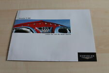 124110) Chrysler C-300 Letter Car HEMI Prospekt 03/2004