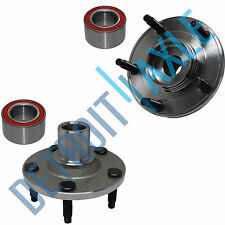 Pair (2) NEW Front Wheel Hub and Bearing Assembly for Ford Mercury Mazda