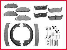03 06 Town Car LIMO F&R Ceramic Brake Pads & Em Shoes Parking Brake Shoes & Spr