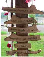 Handmade Personalized Rustic Wedding Guest sign in and Keepsake. Size Small