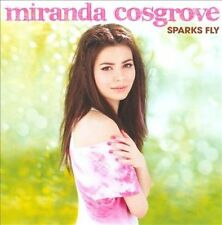 MIRANDA COSGROVE Sparks Fly CD 2010 Columbia iCarly *NEW* kissin u/BAM/disgustd