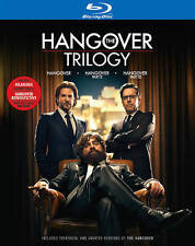 The Hangover Trilogy Collection 1,2 and 3 [Blu-ray, 4-Disc set] - Brand New!!