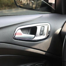 Chrome Trim Inside Door Handle Cover For Ford Kuga Escape MK2 2013 2014 2015 16