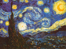 Starry Night, c.1889 Art Print Poster by Vincent van Gogh