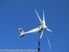 Hurricane Vector Wind Turbine Generator Kit 2500 Watt 24 Volt 1000 continuous