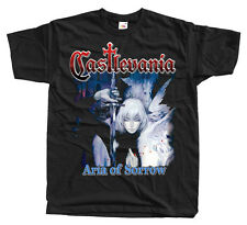 Castlevania Aria of Sorrow cover T shirt BLACK all sizes S-5XL