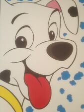 Disney  101 Dalmatians Poster Of A Puppy Dog New