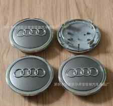 4pcs Audi Wheel Center Hub Cap Silver  Emblem Badge Logo 69mm