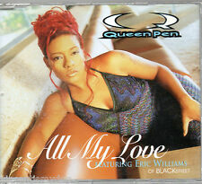 QUEEN PEN - ALL MY LOVE (4 track CD single)