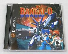 2000 Crave Sega Dreamcast Bangai-O Video Game Disk Complete Good Condition!