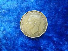 GB George VI Threepence 1937 EF