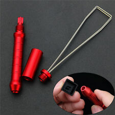 New Red Aluminium Alloy Keycap Puller Remover Adjuster For Mechanical Keyboard