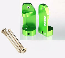 Traxxas 3632G L/R Green Aluminim Caster Blocks 30-Degree : 1/10 Skully