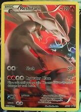 Pokemon XY74 Reshiram HOLO RARE Black Star Promo Card Mint/Near-Mint