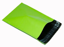 500 Green Plastic Postal Mailing Bags 12x16 12 x 16 shoes shirts glossy 305 410