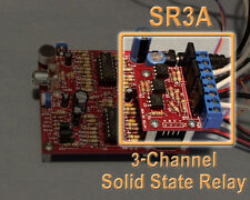 3 Channel Solid State Relay - 120VAC 8A, 5 to 15V input.