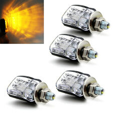 4pcs 6 LED Mini Motorcycle Dirt Bike Turn Signal Blinker Indicator Light 12V