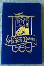Disney Sleeping Beauty 40th Anniversary 24K Gold Collectible LE Card Set