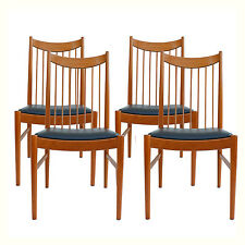 Set of 4 Arne Vodder Dining Chairs Sibast Mobler Danish Modern Teak Denmark