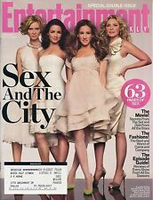 SEX AND THE CITY (63 pages)  Entertainment Weekly May 23, 2008 5/23/08  C-2-3