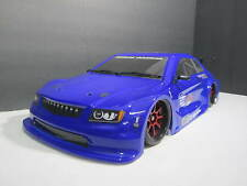1x brand new painted Bodies for 1/10 sacle on-roAD rc car SUPER BLUE