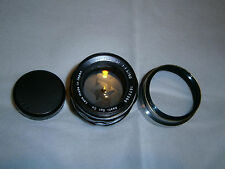 RARE 8 elements.... Super - Takumar 50mm F 1.4.......in Pentax M42 Screw Mount..