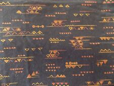 Estate Fabric VIP Cranston Southwest Tribal Indian Pattern BTY  Quilt