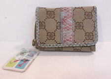 Ladies Light brown Fabretti purse style 32673