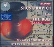 Gennady Rozhdestvensky The Bolt Complete CD NEW Shostakovich