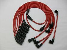 TRIUMPH STAG ROVER 3.0 V8 MGB V8 8MM HIGH PERFORMANCE IGNITION LEADS RED QUALITY
