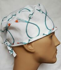 FOLEY CATHETER SURGICAL SCRUB HAT THEATRE CAP ANATOMY