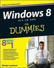 Windows 8 All-in-One for Dummies® by Woody Leonhard (2012, Paperback)