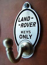 LAND Rover OFF ROAD 4x4 Gancio Chiave (esclusivo design) incise Peltro Inglese